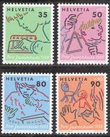 1381-1384  postfrisch (CH)