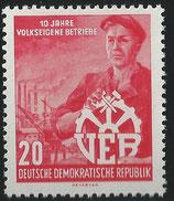527 postfrisch (DDR)