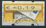 BRD-ATM 5 - 19 gestempelt