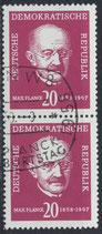 DDR 627 senkrechtes Paar
