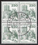 590 gestempelt Viererblock (BERL)