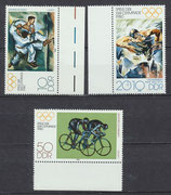 DDR 2528-2530 postfrisch mit Bogenränder