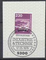 BERL 586  gestempelt mit Ersttagssonderstempel