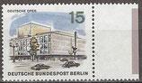 255 postfrisch mit Bogenrand rechts (BERL)