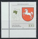 BRD 1662   postfrisch mit Bogenrand links unten