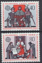791-792  postfrisch (LIE)
