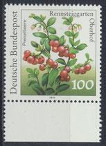 BRD 1508 postfrisch mit Bogenrand unten
