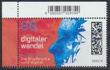 BRD 3590 postfrisch mit Eckrand links oben