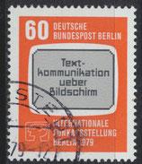 BERL 600 gestempelt