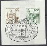 BERL 537-540  gestempelt mit Ersttagssonderstempel
