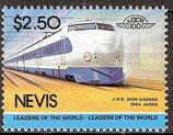 208 postfrisch (Nevis Eisenbahn)