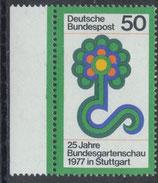 BRD 927 postfrisch mit Bogenrand links