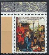 BRD 3184 postfrisch mit Eckrand links oben