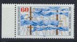 BRD 1058 postfrisch mit Bogenrand links