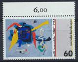BRD 1403 postfrisch mit Bogenrand oben