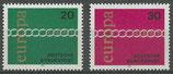 BRD 675-676  postfrisch