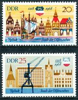 1384-1385 postfrisch (DDR)