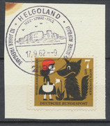 BRD 340 gestempelt auf Briefstück