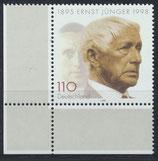 BRD 1984 postfrisch mit Eckrand links unten