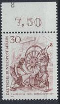 BERL 335 postfrisch mit Bogenrand oben