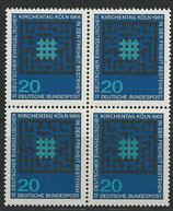 BRD 480 postfrisch Viererblock