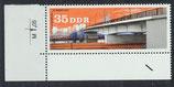 DDR 2167 postfrisch mit Eckrand links unten