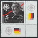 1904 gestempelt Eckrand rechts unten (BRD)