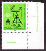 DDR 2309 postfrisch mit Eckrand rechts unten