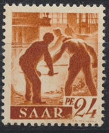 SAAR 215 postfrisch