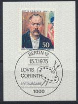 BERL 509  gestempelt mit Ersttagssonderstempel