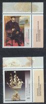 BRD 3227-3228 postfrisch mit Eckrand rechts oben