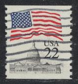 1738 C gestempelt (USA)