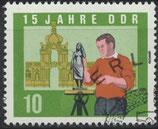 DDR 1071A  philat. Stempel