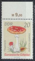 DDR 1936 postfrisch mit Bogenrand oben