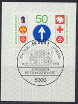 BRD 1004  mit Ersttagsonderstempel