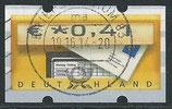 BRD-ATM 5 - 41 gestempelt