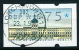 75 (Pf) ATM 1 gestempelt  (WB)
