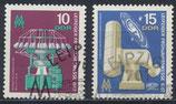 DDR 1254-1255  philat. Stempel