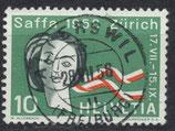 CH 654 gestempelt