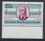 BERL 639 postfrisch mit Bogenrand unten