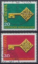 BRD 559-560 gestempelt
