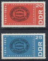 DDR 1054-1055 postfrisch