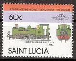 718 postfrisch (St. Lucia Eisenbahn)