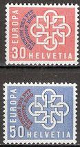 681-682 postfrisch (CH)