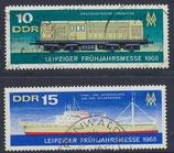 DDR 1349-1350 gestempelt