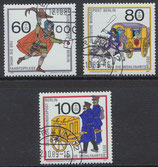 BERL 852-854 gestempelt