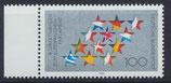 BRD 1724 postfrisch mit Bogenrand links