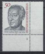 BERL 723 postfrisch mit Eckrand rechts unten