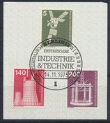 BERL 494+504+506 gestempelt mit Ersttagssonderstempel