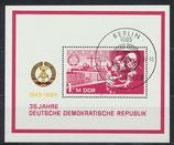 DDR Block 78, 2896 gestempelt